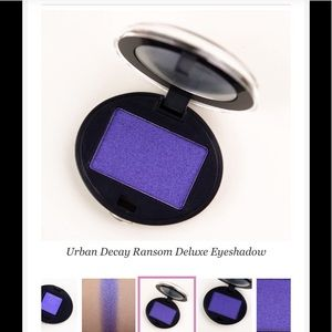 Urban Decay NIB Super Rare Find! Ransom Eyeshadow